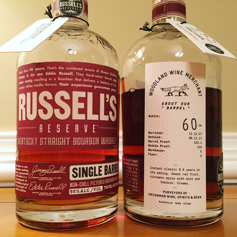 Russell's Reserve SiB Woodland Wine
