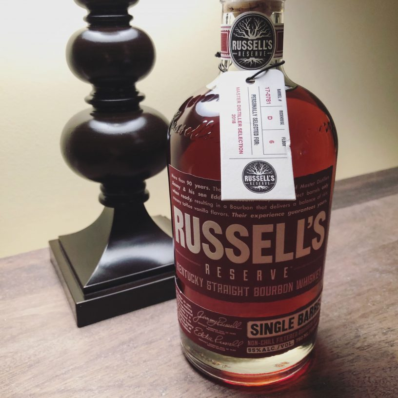 Russell's Reserve MDS 2018