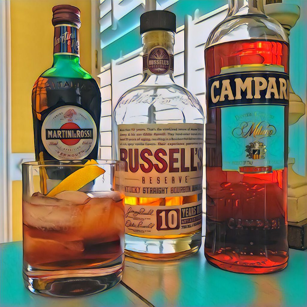 Russell's 10 Boulevardier