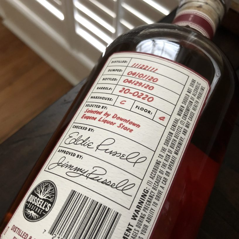Russell's Reserve G4