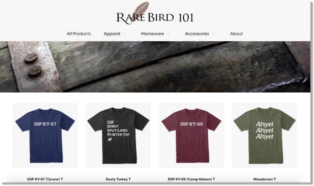 Rare Bird 101 Store
